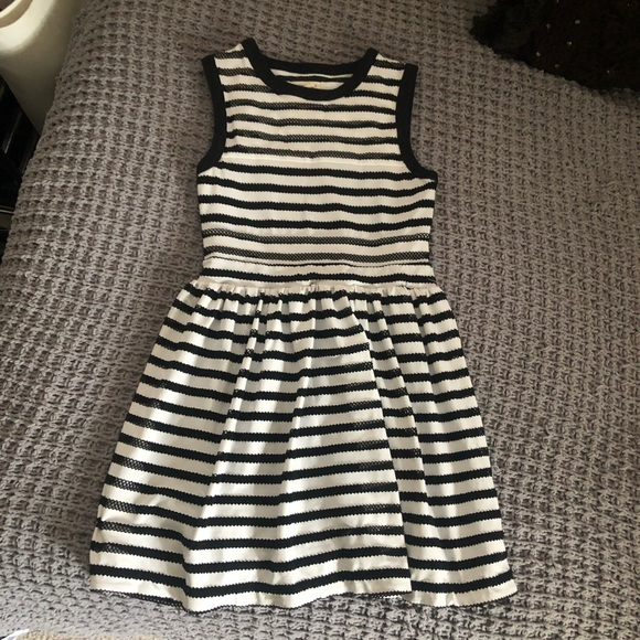 silence + noise Dresses & Skirts - Black & White Dress from Urban Outfitters